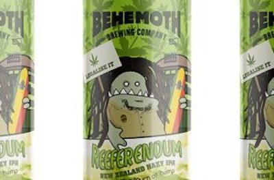 NZ Brewer Behemoth urging Yes vote in Reeferendum !