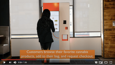 Boston cannabis tech company  develops  vending machine for  minimal-contact purchasing.