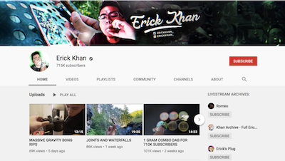 Growth Op Report: Four weed YouTube channels worth watching