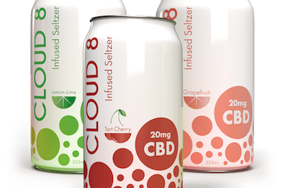 Cloud 8 Launches CBD Seltzers Focused on Taste and Affordability