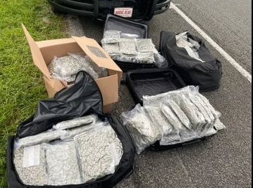 Florida Highway Patrol seizes 150 lbs. of marijuana during traffic stop in St. Johns County