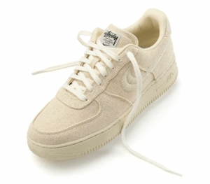 Nike releases hemp edition Air Force 1's in collaboration with Stüssy