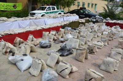 Over 778 tons of narcotics seized by Iran in 10 months