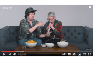 A Stoner Smokes Weed with his Grandma for the First Time