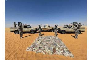 Saudi Border Guards foil bid to smuggle 1.5 tons of hashish