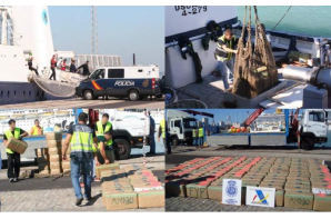 Spain: Drug gang caught with 630 kilos of hashish in Malaga and Almeria