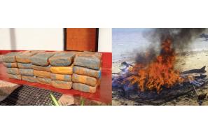 Sri Lanka: Navy seizes abandoned stock of Kerala cannabis worth over Rs. 39 million