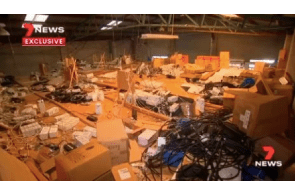New South Wales police seize $3 million in cannabis from Bankstown warehouse