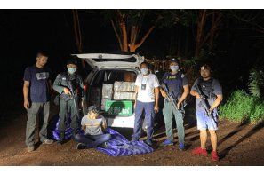 Thailand:   Two arrested with 400kg marijuana