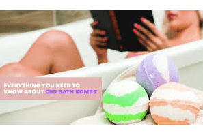 The lowdown on CBD bath bombs and which ones you should try