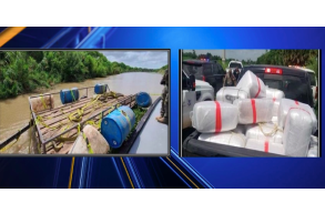 565 pounds of marijuana found on truck rafted across Rio Grande