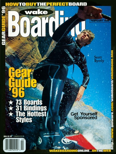 scott byerly waekboarding magazine cover board cam rick doyle