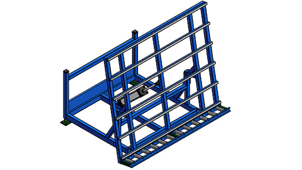 Pneumatic Tilt Transfer Table
