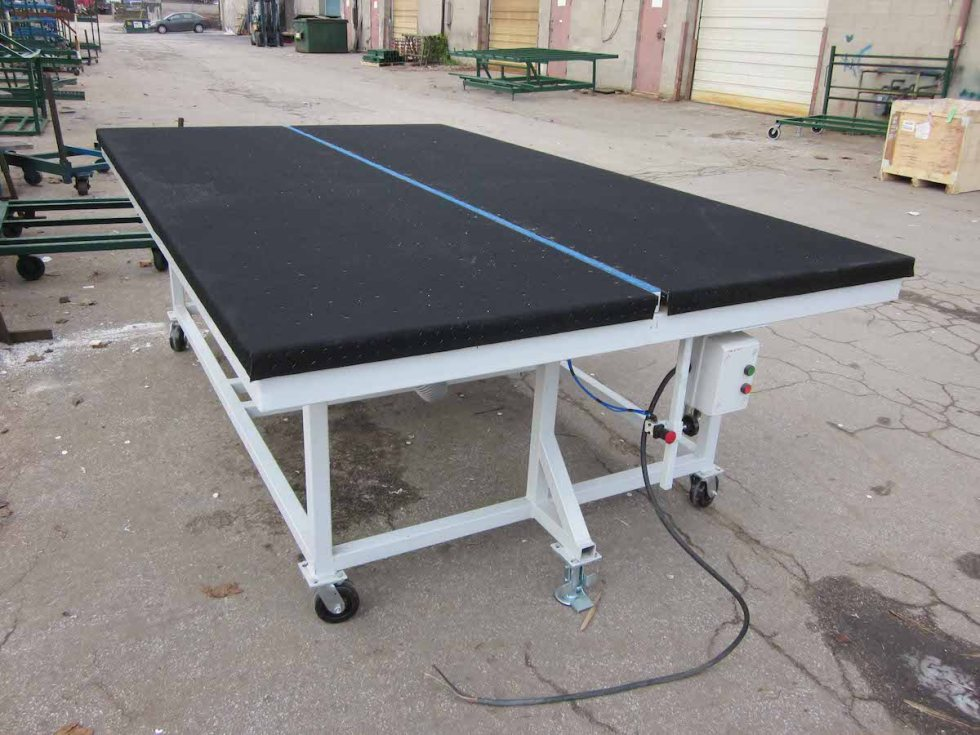 Air Float Cutting Table With Breaker Bar 1 Copy