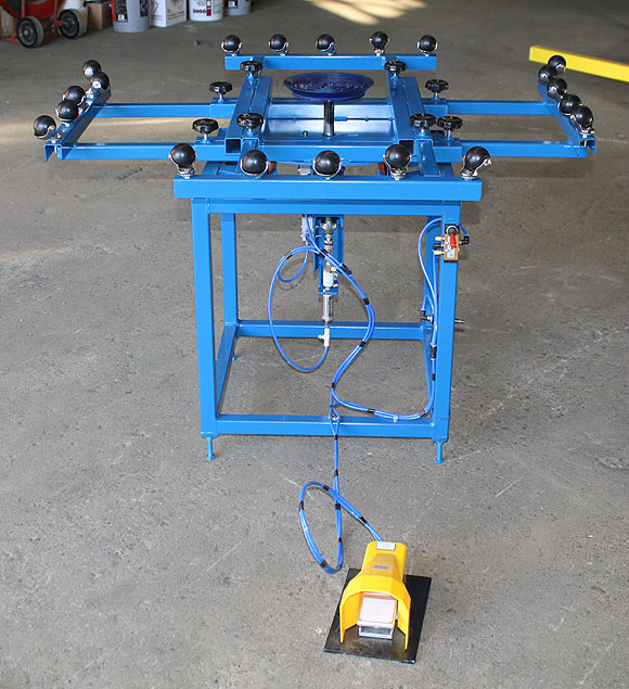 Sash Assembly Table