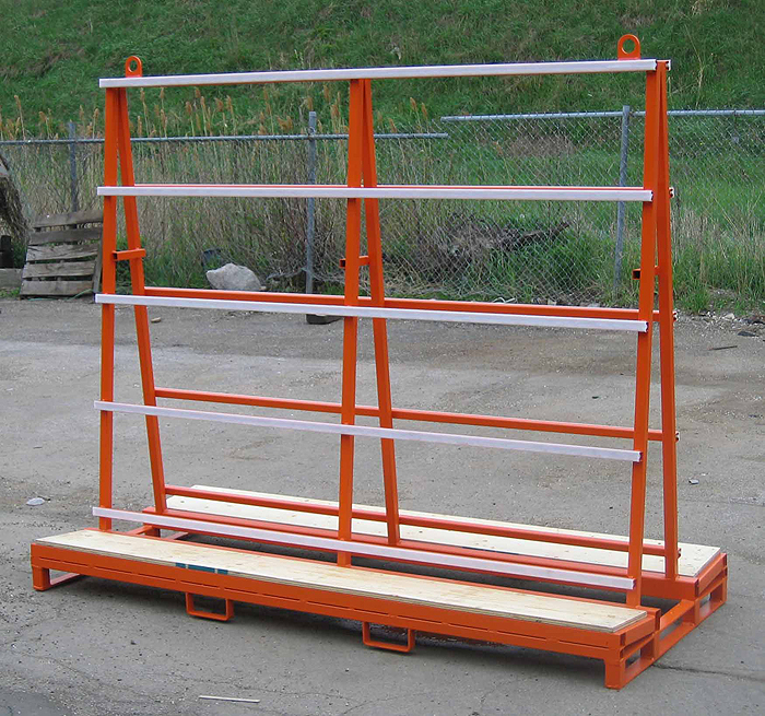 A Type Shipping Rack