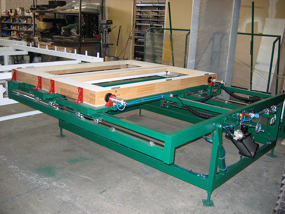 Tilting Assembly Table W Clamps Wakefield Equipment