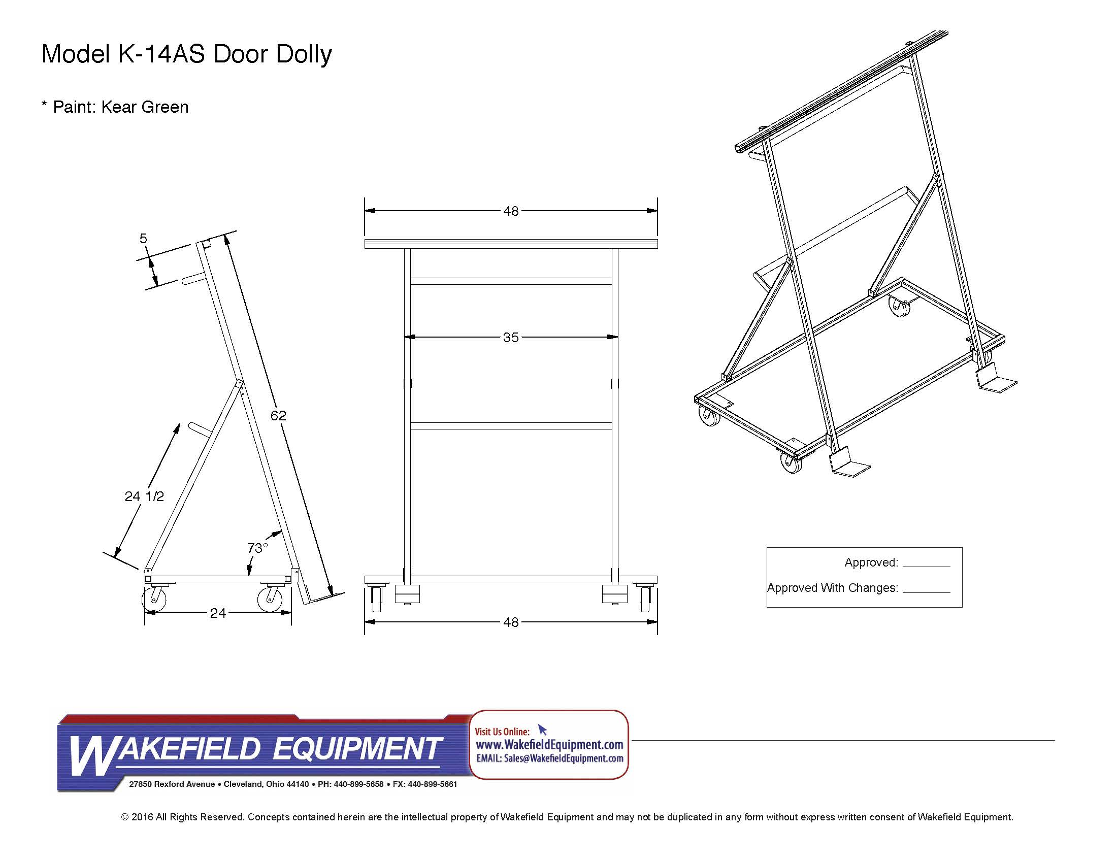 CAD S&les  sc 1 st  Wakefield Equipment & Window and Door Carts and Dollies Window Cart