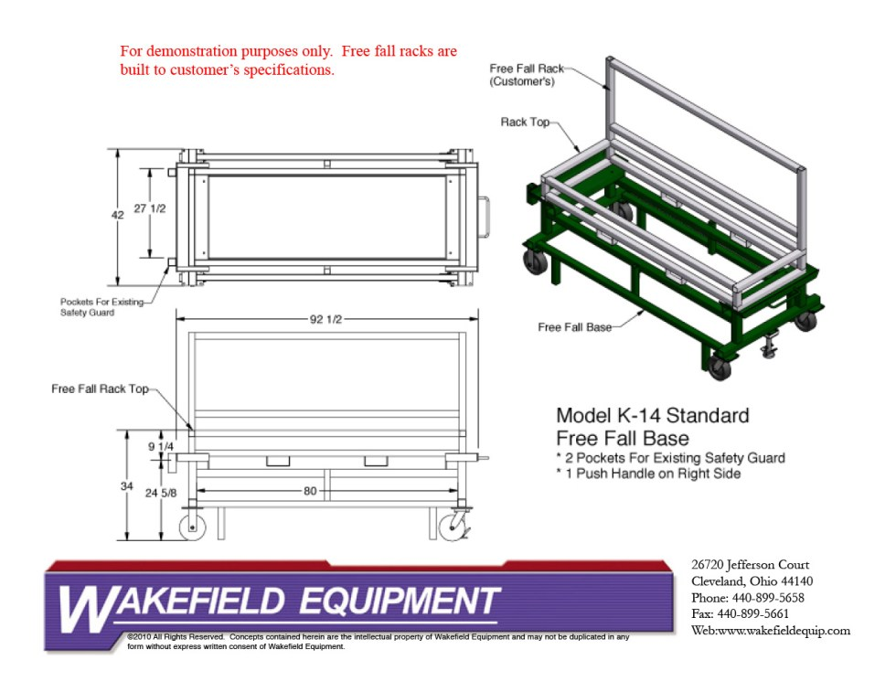 Free Fall Base RetroFit CAD