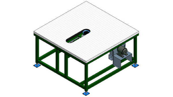 Grid Application Table with Air Float
