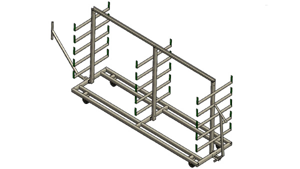Mobile Extrusion Racks