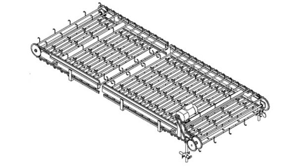 Overhead Spacer Conveyor