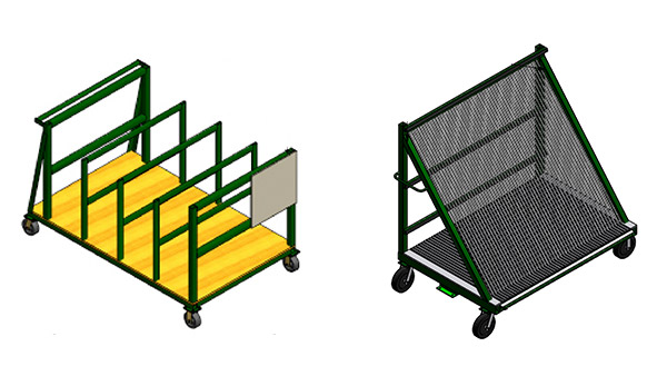 Replacement Parts for Racks, Dollies & Carts