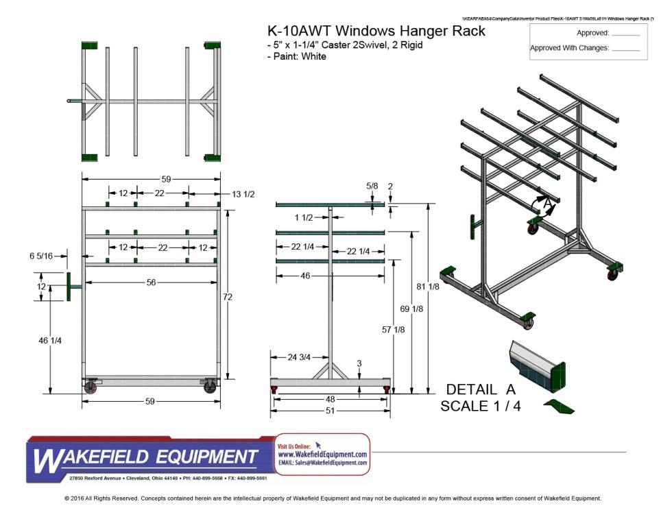 Spacer Rack 02 CAD