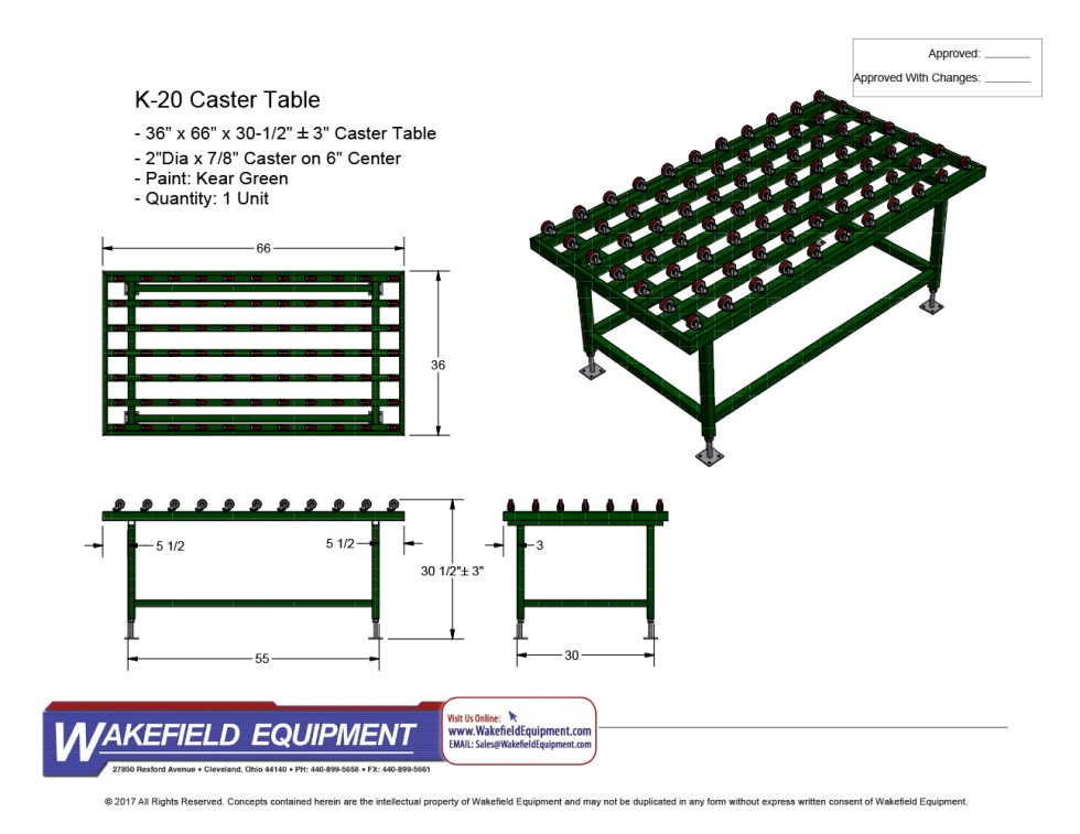 Caster Table New 01