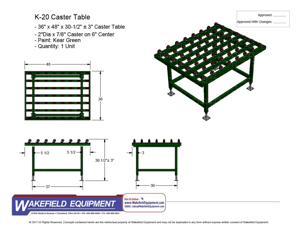 Caster Table New 03
