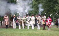 1812 muskets firing