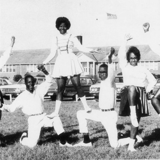 1965 DuBois Cheerleaders