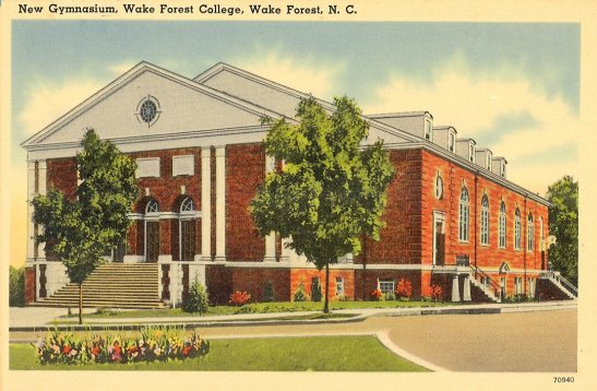 Postcard of Gore Gym