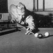 Playing Pool, ca. 1943