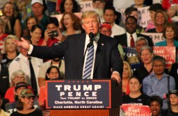 Trump Revisits Swing State North Carolina