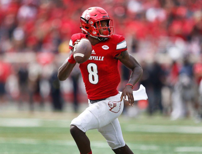 Patriots hosted, were 'intrigued and impressed' with Lamar Jackson