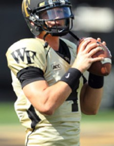 Listed as the backup quarterback along with patrick thompson on weekly depth chart completed of passes for yards also tyler cameron football roster wake forest university rh wakeforestsports