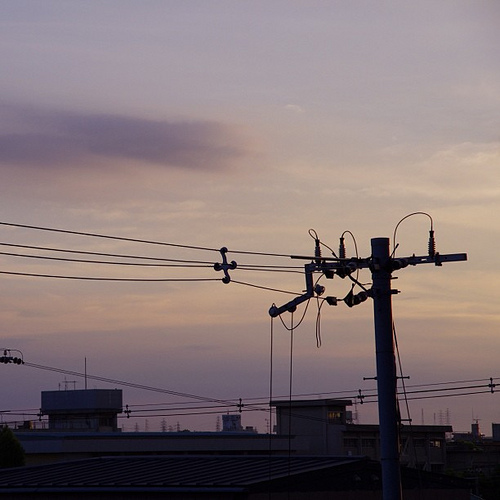 今日の夕暮れ… by PENTAX K-5 with DA 18-135WR