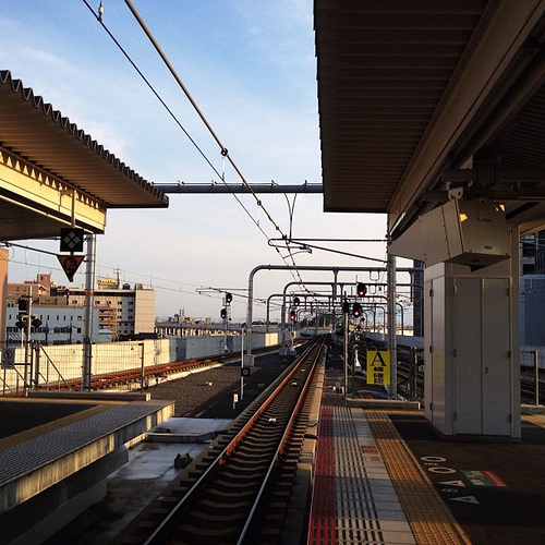 JR奈良駅にて #iphonography #instagram #iphone4s