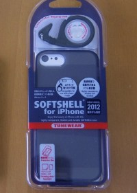 iPhone 5 ケース – TUNEWEAR SOFTSHELL for iPhone 2012