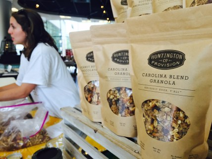 Granola blends from Huntington Provision Co.