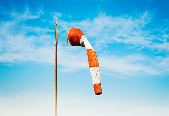 no-wind-windsock-GettyImages-466499041