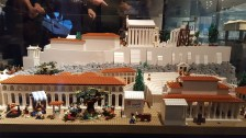 Lego Nachbildung der Akropolis