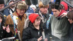 Attawapiskat Chief Theresa Spence held a hunger strike in 2013 over living standards