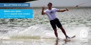 Billetterie en ligne - Wakeboard, Wakeskate, Kneeboard, Ski Nautique au Wake Park Plessé