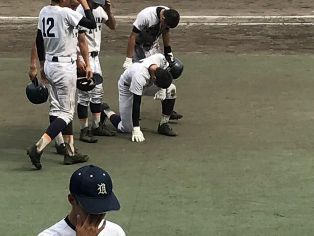 宇和島東-川之江(第99回全国高等学校野球選手権愛媛大会・準々決勝)
