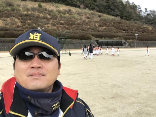 宇和ボーイズ小学部の平成30年練習始めに行ってきました。