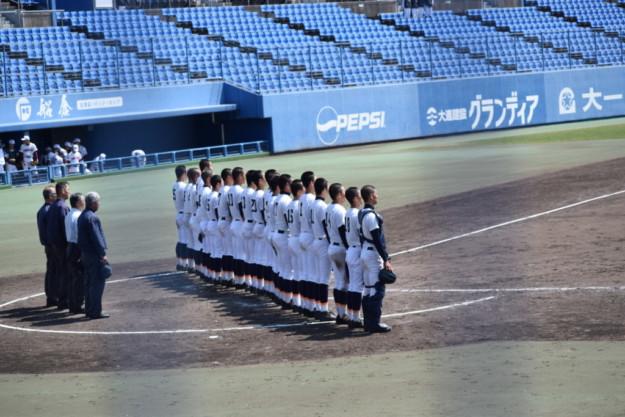 宇和島東-新居浜南(2019年度春季愛媛県大会・準々決勝)試合経過