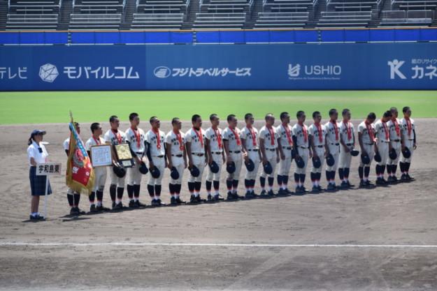 松山聖陵―宇和島東(第101回全国高校野球選手権愛媛大会・決勝)