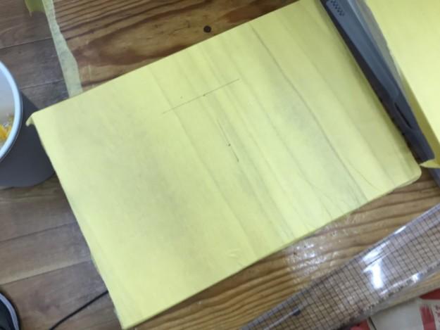 予想以上に時間がかかったレーザー加工(木製賞状作り)
